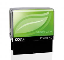Bélyegző Printer IQ40 GreenLine környezetbarát bélyegző