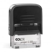 Colop C20 bélyegzőház fekete-átlátszó színű